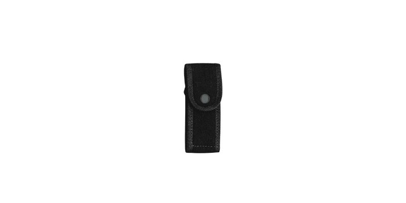 Black cordura sheath - 11 cm
