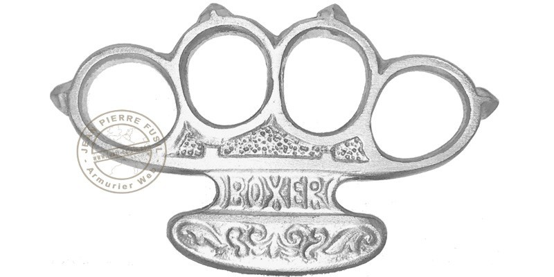 Boxer Knuckle-duster - Aluminium