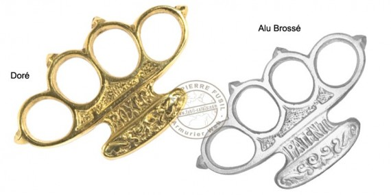 Boxer Knuckle-duster - Aluminium or Brass