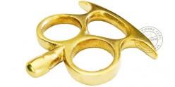 Gri-gri 2 fingers Knuckle-duster - Golden