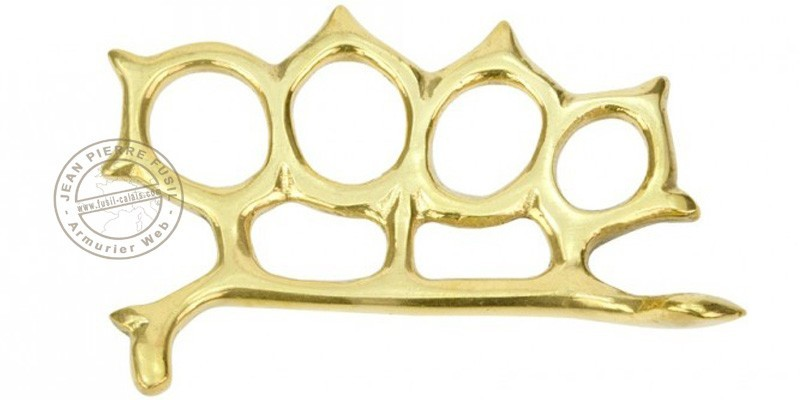 Rattlesnake Knuckle-duster - Golden
