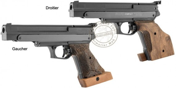 GAMO Compact pistol - .177 bore - right or left handed (3,65 joules)