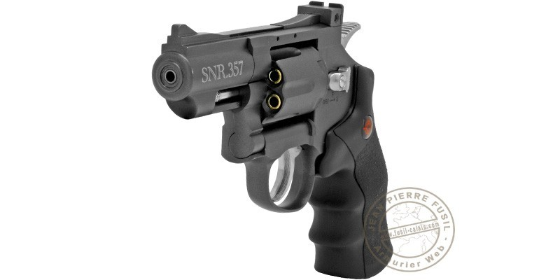 Revolver 4,5 mm CO2 CROSMAN - SNR 357 - Canon 2.5'' (2,5 joules)