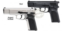 Pistolet d'alarme Umarex BROWNING GPDA Cal.9 mm - Argent Mat
