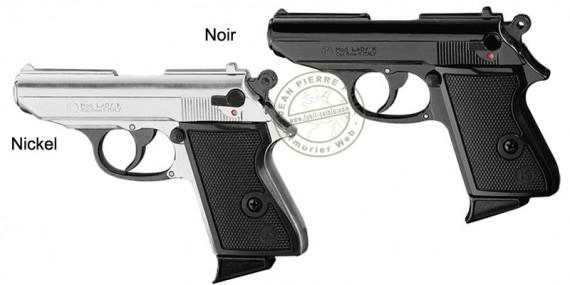 KIMAR Lady blank firing pistol - 9mm blank bore - Black or Nickel plated