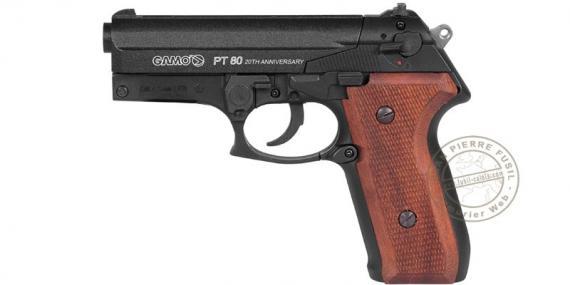 Pistolet à plomb CO2 4.5 mm GAMO PT-80 - 20ème anniversaire(3,98 joules)