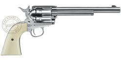 UMAREX Colt SAA .45 CO2 revolver - 7.5'' barrel - .177 BB bore - Nickel plated finish