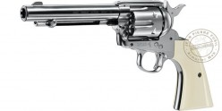 "Revolver 4,5 mm CO2 UMAREX Colt Single Action Army 45 - Canon 5,5"" - Plombs"