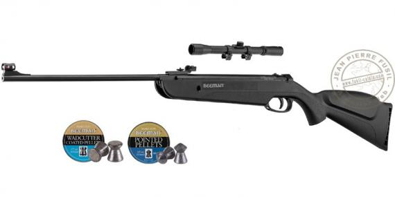 BEEMAN QB 22 air rifle .177 bore (10 joules) + 4x20 scope - PROMO