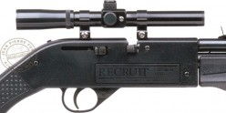 Carabine 4,5 mm CROSMAN Recruit (10 joules) + lunette 4x15