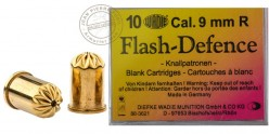 9 mm blank flash revolver cartridges 10