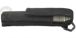 Matraque télescopique rigide PIRANHA - Stylo Pocket titanium