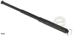 Matraque télescopique porte-clés PIRANHA - Noir