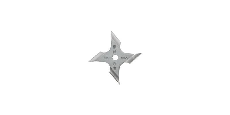 Shuriken Iga Ninja - 4 blades - Stainless steel