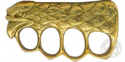 Eagle's head Knuckle-duster - Golden