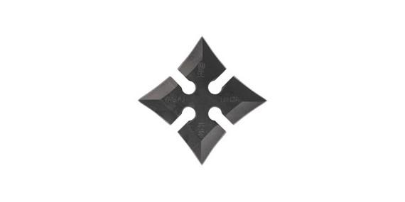 Shuriken Yagyu Ninja - Square - Black