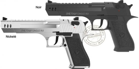 RETAY Eagle XU blank firing pistol - 9mm blank bore