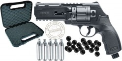 WALTHER T4E HDR 50 rubber bullets revolver pack (11 Joule max) - PROMO (  E813 )