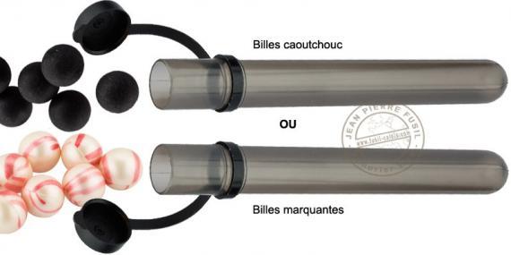 Tube of 15 balls - Caliber .50