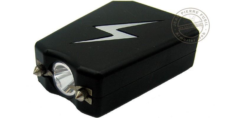 Poing électrique Police Security Eclair 2 000 000 V + Led