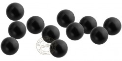 Box of 100 rubber balls caliber .68