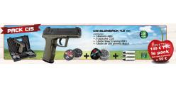 GAMO C15 blowback .177 CO2 pistol kit - Dual tone (3.5 joule) - CHERRY PACK 2019