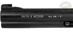 Revolver 4,5 mm CO2 UMAREX - Modèle SMITH & WESSON Mod.586 canon 6 (3,6 joules)