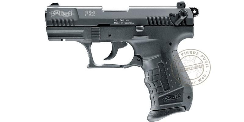 Pistolet alarme UMAREX P22 noir Cal. 9mm