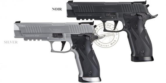 Pistolet à plomb CO2 4,5 mm SIG SAUER X-FIVE ASP - Blowback (2,8 Joules)