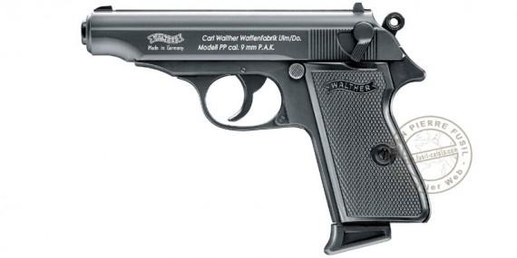 Pistolet alarme WALTHER PP noir Cal. 9mm