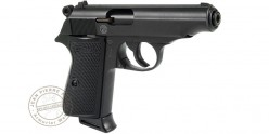 Pistolet alarme WALTHER PP noir Cal. 9mm