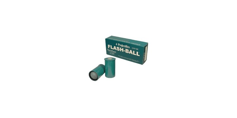 Flash Ball cartridges - Cal. 4483 - (x 4)