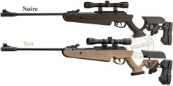 B.O. QUANTICO air rifle .177 bore (19.9 Joule) + 4x32 scope
