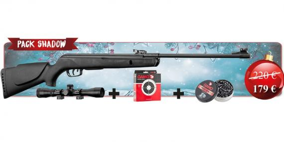 GAMO Shadow 1000 airgun kit .177 (19.9 joule) -CHRISTMAS 2019