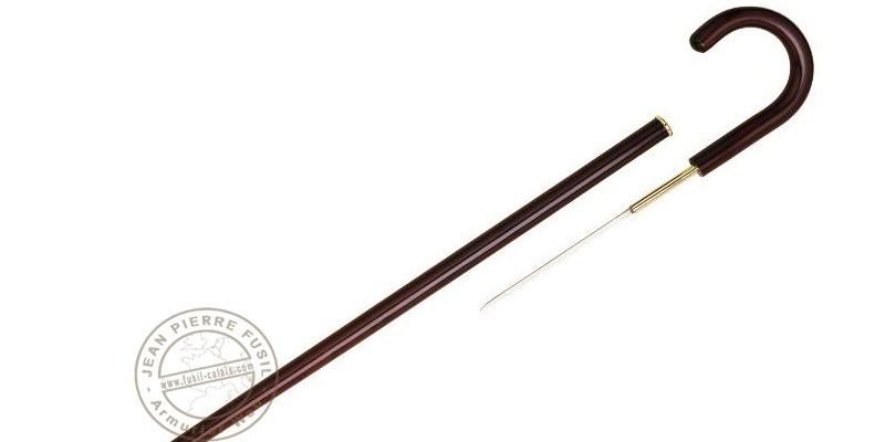 Herdegen swordstick - Wooden crooked ad dagger