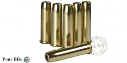 UMAREX - Lot de 6 douilles pour revolver 4.5mm BB CO2 - COLT Single Action Army 45