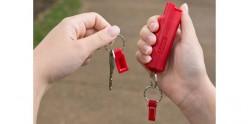 Sabre Red - Aérosol de défense au piment rouge - Porte-clés