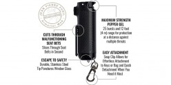 Sabre Red Safe Escape - 3 in 1 defense spray