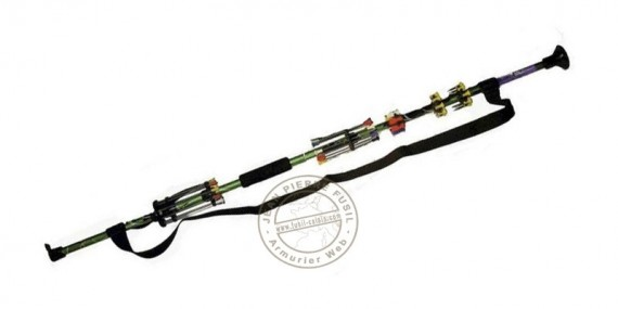 Dismountable blowgun 48'' - 2 elements - Camo