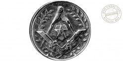 FAYET Milord Swordstick - Masonic badge