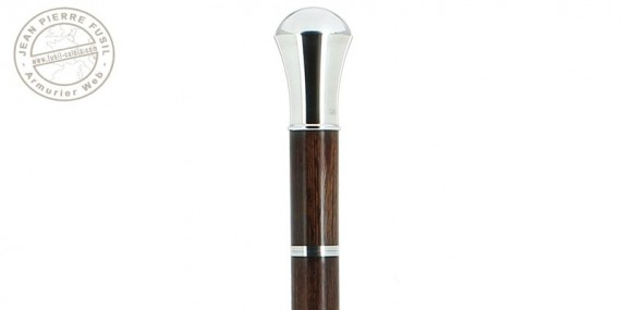 FAYET Swordstick - Silver ball knob