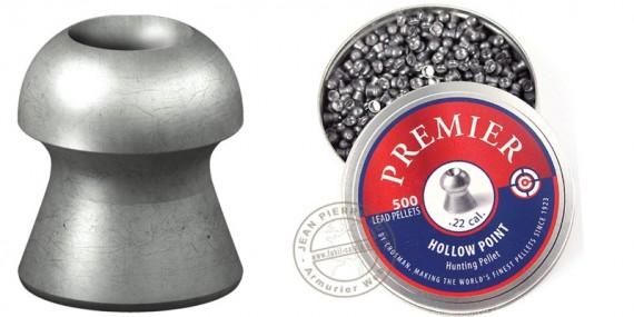 Crosman Premier Hollow Point pellets - .22 - x500
