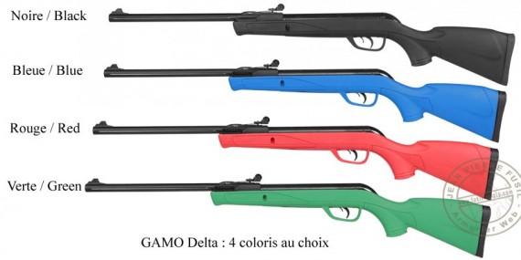 Carabine à plomb GAMO Delta 4,5 mm (7,5 joules)