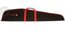 GAMO Fourreau matelassé pour arme à lunette - Noir et rouge- 125 cm