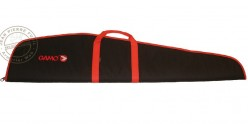 GAMO padded gun cover for airgun with scope - Black and red - 125 cm