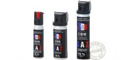 Set of 3 self-defence sprays CS gas - PROMOTION