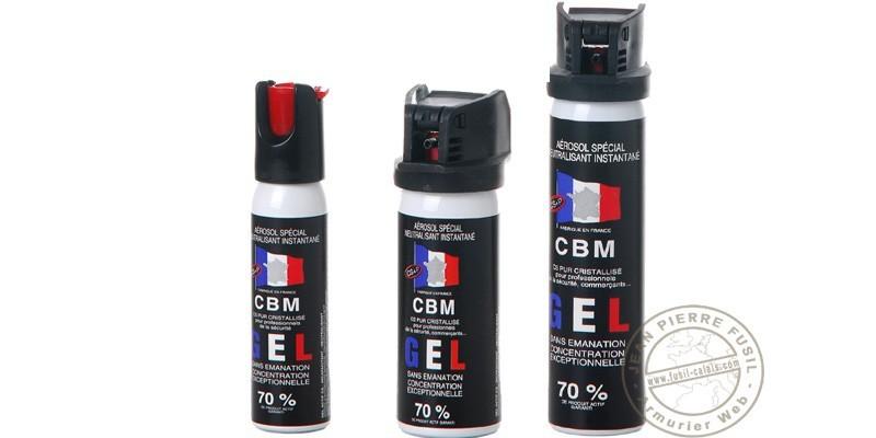 Set of 3 self-defence sprays CS gel - PROMOTION