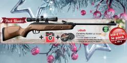 GAMO Hunter 440 airgun kit (19.9 Joules) - .177 rifle bore - CHERRY PACK
