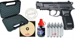 ASG BERSA Thunder 9 Pro CO2 pistol pack - .177 bore (2.6 Joules) - CHRISTMAS OFFER