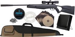 Pack carabine à plomb CROSMAN F4 NP 4.5 mm (19,9 joules) - PROMO NOEL 2020